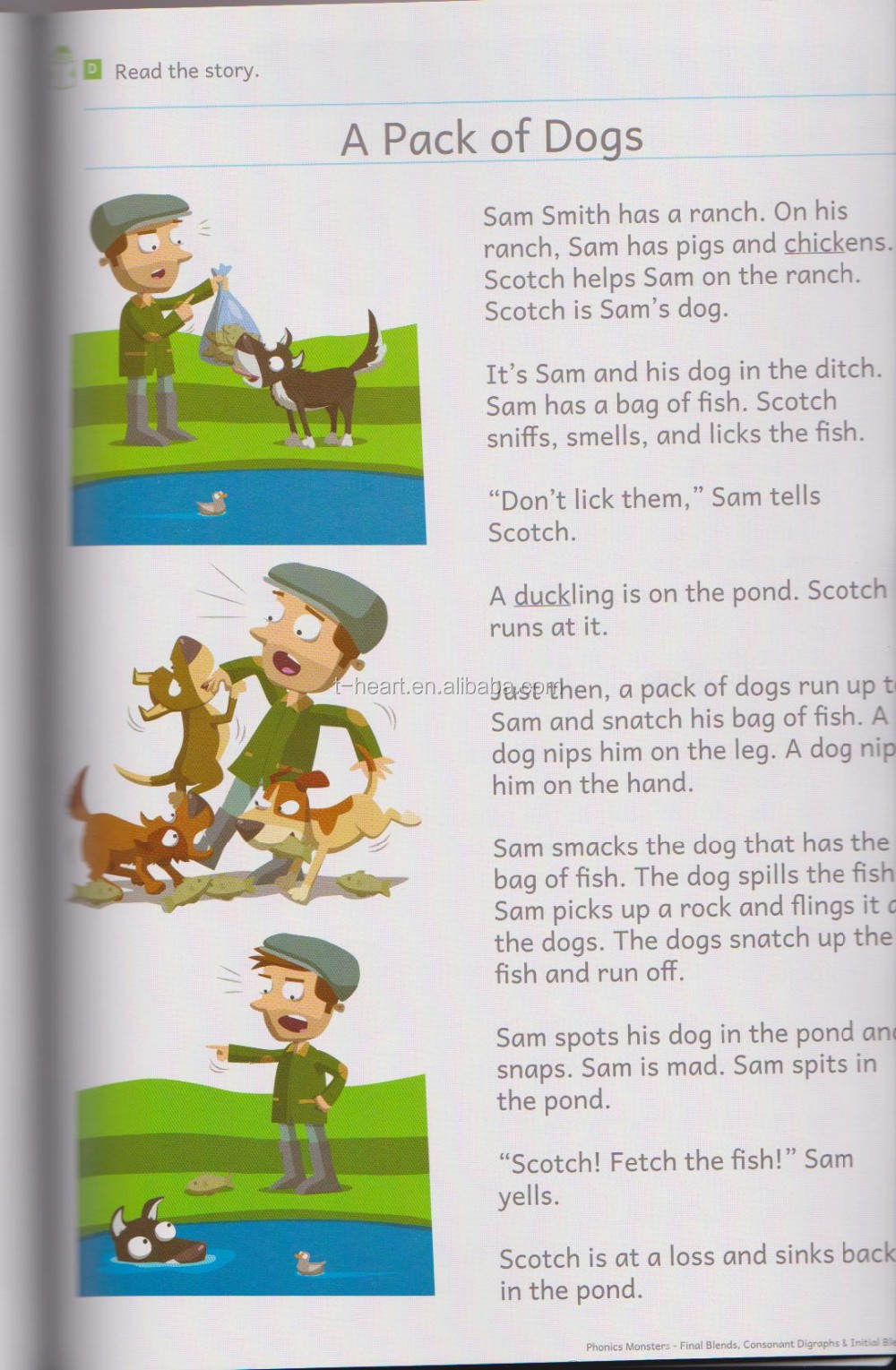 English learning audio book for kids learning Phonics