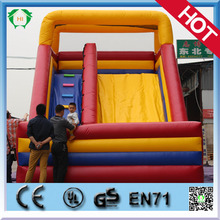Inflatable super slides for amusement park, inflatable giant slide bouncer for kids, outdoor water inflatable slides