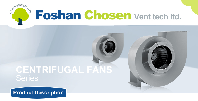 Large Air Volume High Efficiency And High Quality Industrial Forward Centrifugal Fan