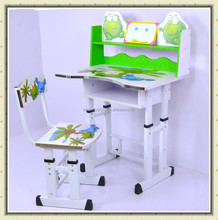Adjustable Carton Folding Children Kids Study Table and Chair Set