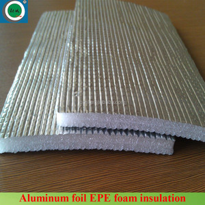 Reflective fireproof aluminum foil EPE/XPE foam insulation roll