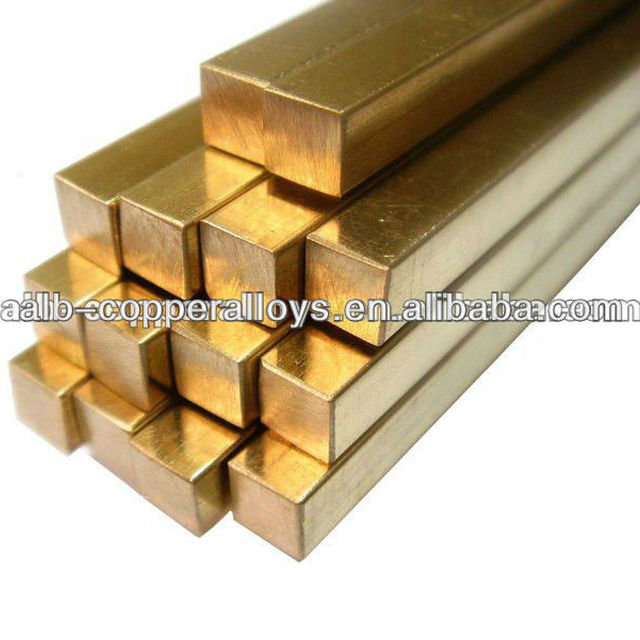 CuNi2CrSi Chromium Nickel Silicon Copper square bar C18000