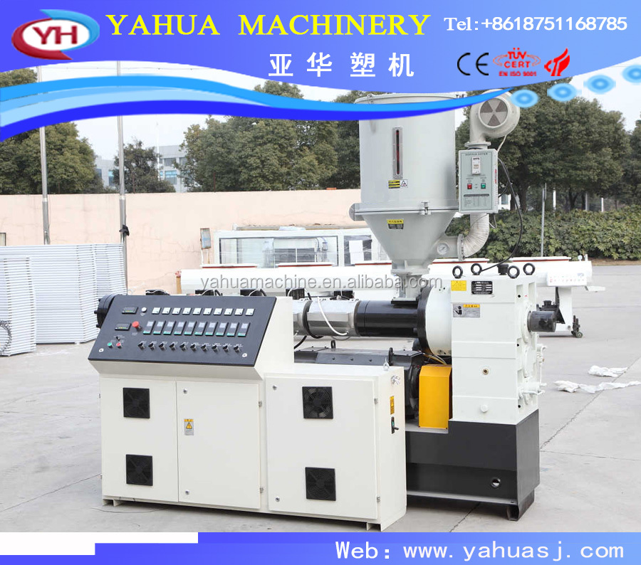 HDPE pipe injection extruding machine/large diameter pipe extruder equipment/PE PP PVC Plastic pipe extrusion