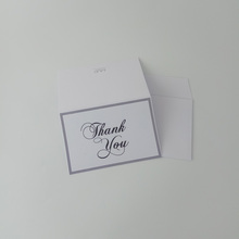 Wholesale Customized Cheap Two Fold Greeting <strong>Cards</strong> Thank you <strong>Card</strong>