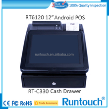 Runtouch RT-C330 New Free small cash drawer cabinet/ 3 drawer steel cabinet