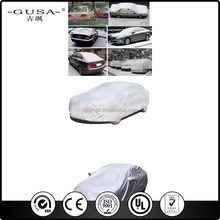 Hot selling car protecttive shelter/automobile car cover at factory price with free sample