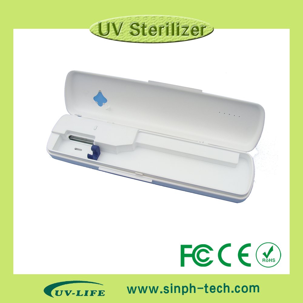 High quality portable uv toothbrush sterilizer UV toothbrush sanitizer Sterilizer/Holder/Cleaner