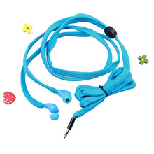 Shoe lace type headphones 20-20000Hz, 32ohm, SPL:108dB