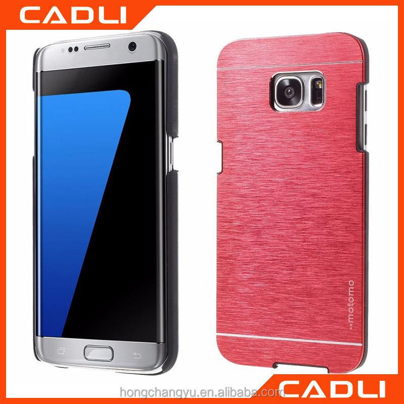 luxury metal aluminum back cover case hard and shockproof for Samsung galaxy note 7 phone case