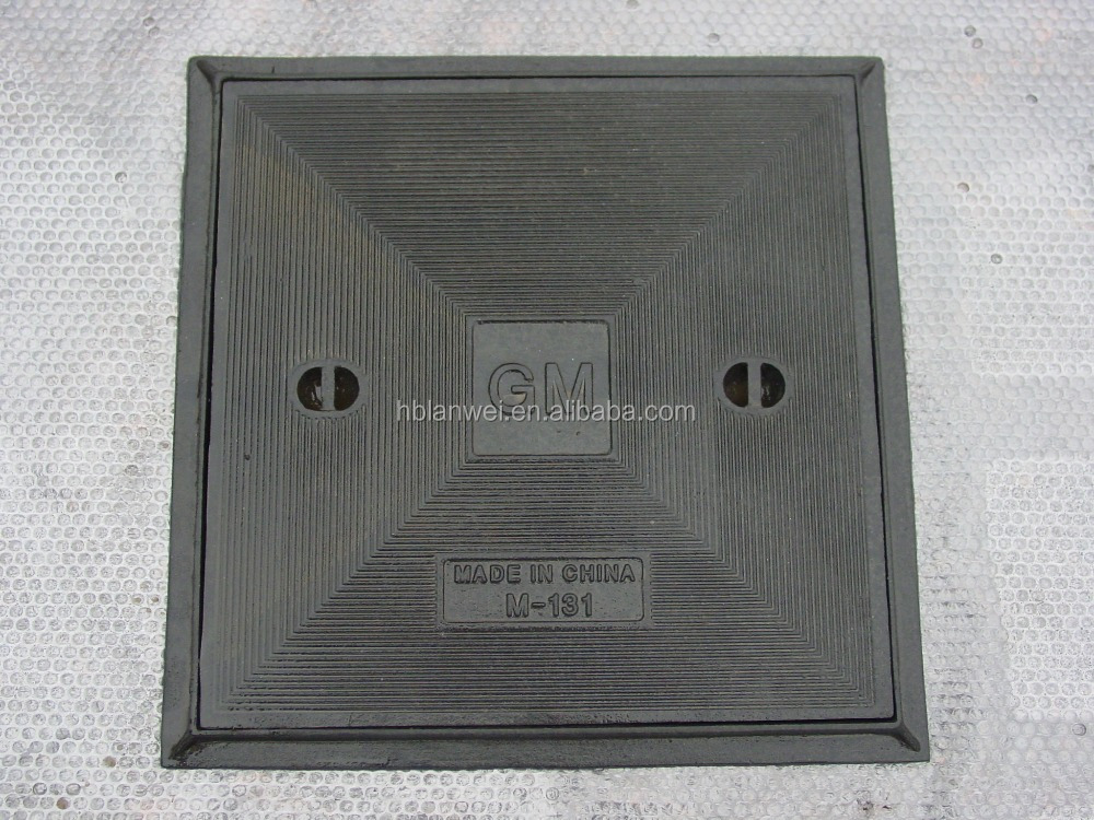 Ductile Iron Square Manhole Cover Manufacturers