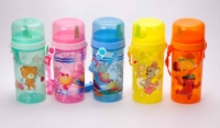 600ml sports bottle,water bottle,plastic bottle with heat transfer printing or 3d