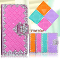2015 Blinging diamond phone case For Dash JR 3.5/D141W, For Dash JR 3.5/D141W wallet leather flip case
