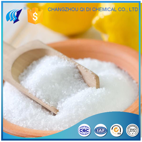 High Purity Dry Powder Citric Acid Anhydrous
