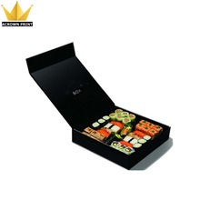 custom cold food paper sushi nori takeaway box, sushi to go box packaging