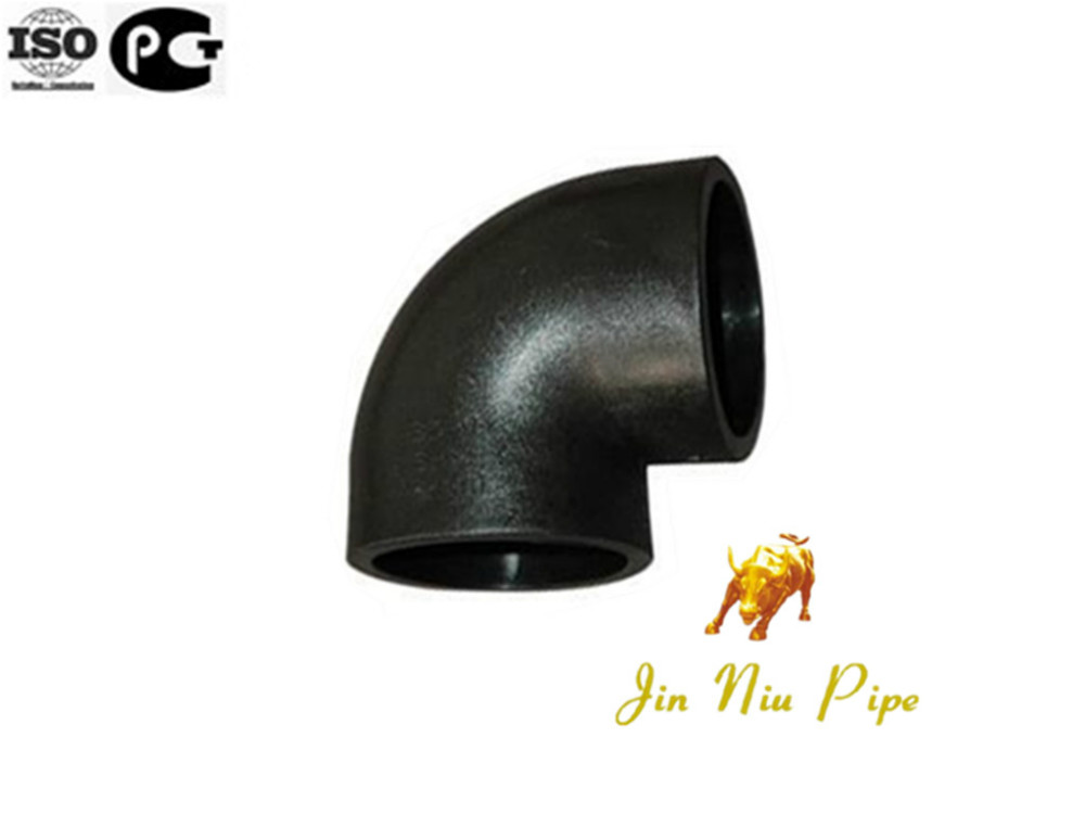 Hot Sell JINNIU Waterproof HDPE elbow 90