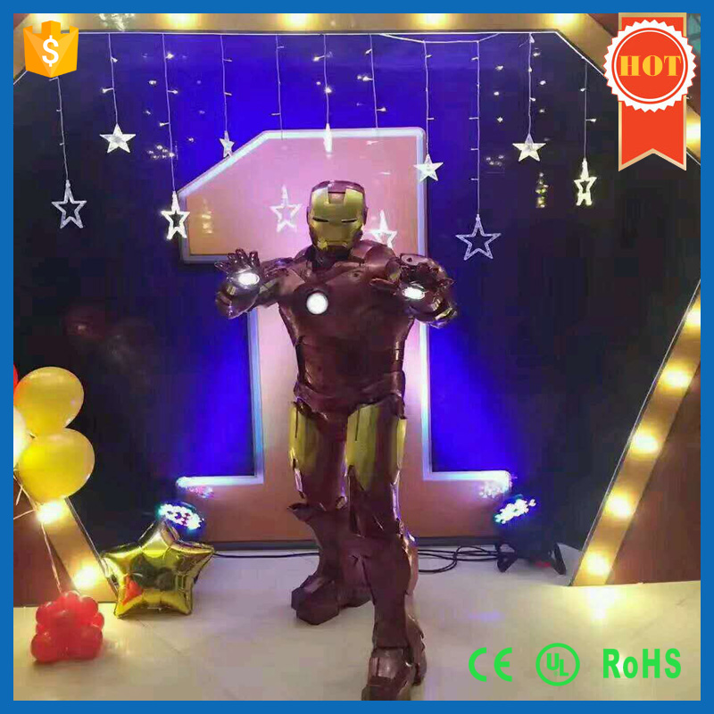 Cool Festival Cosplay Iron Man Suit Costume for Robot Show