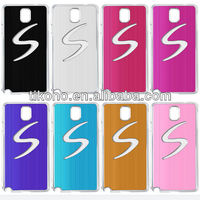 Metal LED flash back case for samsung s4,led phone case for GALAXY 9500