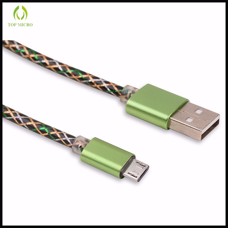 New Quick Charge Flexible Data Line for iphone/Type-C/Android Micro USB Cable