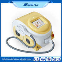 Portable home laser skin care hair removal ipl machine