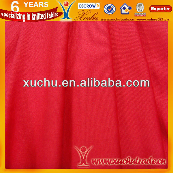 Nylon And Rayon Plain Dye Ponte Roma Fabric