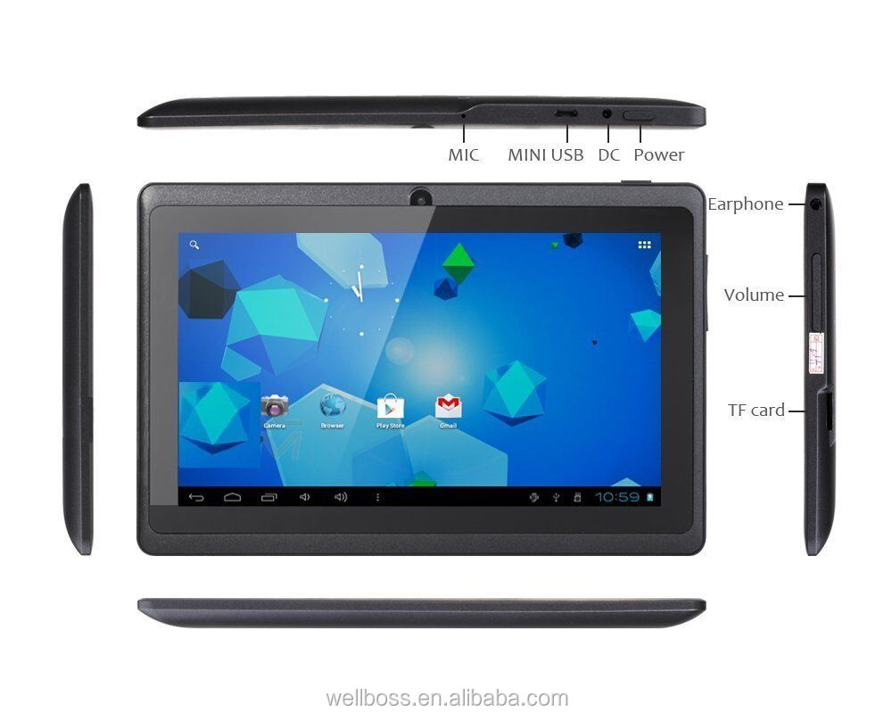 2015 new Wholesale Cheapest 7 inch Allwinner A33 Quad Core 512MB/1GB + 4GB/8 android tablets with good quality tablet pc