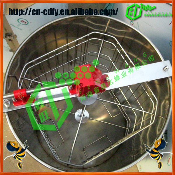 the high quanlity 4 Frame manual Honey Extractor Best Quality
