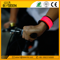 Best selling led slap band flashing fun bracelet armband for running