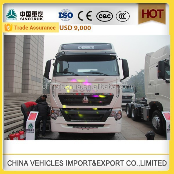 CHINA SINOTRUK HOWO ZZ4257V323HD1 HOWO-T7H used truck drive wheel tractor sale Truck Tractor used lorry lorry transport