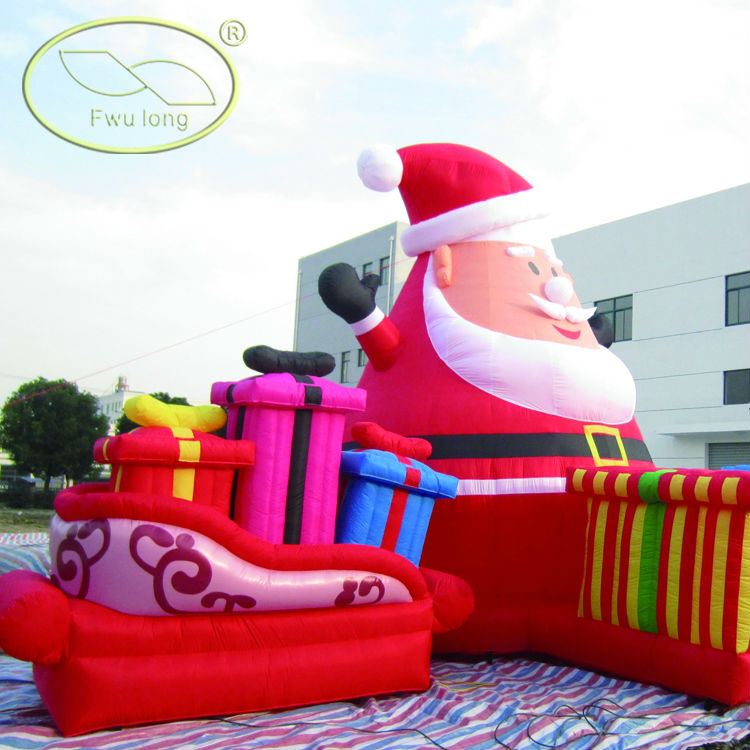 Inflatable christmas products human body for education
