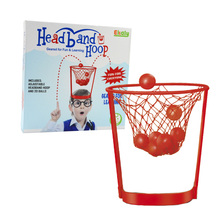 Fun Learning Adjustable Headband Hoop Ball Sport Game Toy for Kids