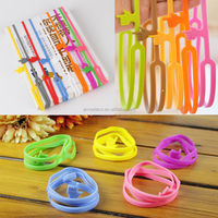 New Elastic Silicone Finger Pointing Bookmark Funny Stationery Gift Office Home