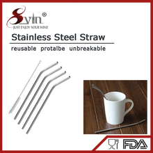 Stainless Steel Straw Set with Brush