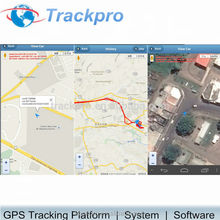 Free Web based GPS server tracking software With Smart Phone APP