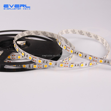 5050 SMD flexible led strip, 120 LED/M waterproof IP67, silicone tube DC 24V flexible tape light side emitting led