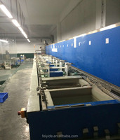 Feiyide Automatic Rack Electroplating Machine Zinc Chroming Plating Line