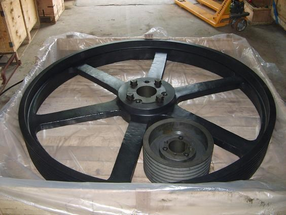 OEM Casting Steel Pulleys of Crane Parts,Cast Iron Belt Pulley Wholesales