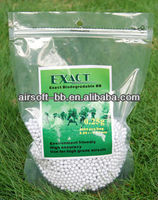 Biodegradable pellets 0.25g 6mm biogradable airsoft bb high precision guns,airsoft pellet bb BIO-0.25