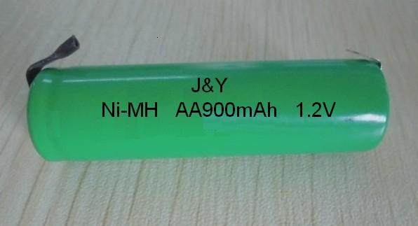 AA900mAh 1.2V Rechargeable battery for street light and toy