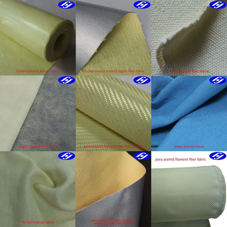 Kevlar undirectional/woven/knitted & IIIA aramid fabric for sale