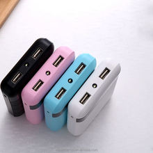 slim keyring 5000mah price and best quality battery charger 7500 mah hippo power bank smobilele