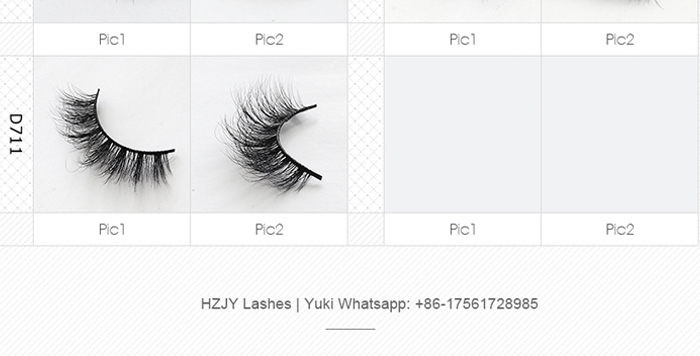 HZJY D660 Wholesale 3d Multi Layered Mink Lashes