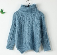 New hot high quality short women's knitted turtleneck sweater, made of arcrylic and wool, OEM and ODM orders welcomed