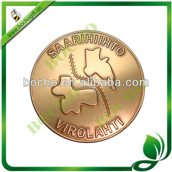 gold coin for souvenir