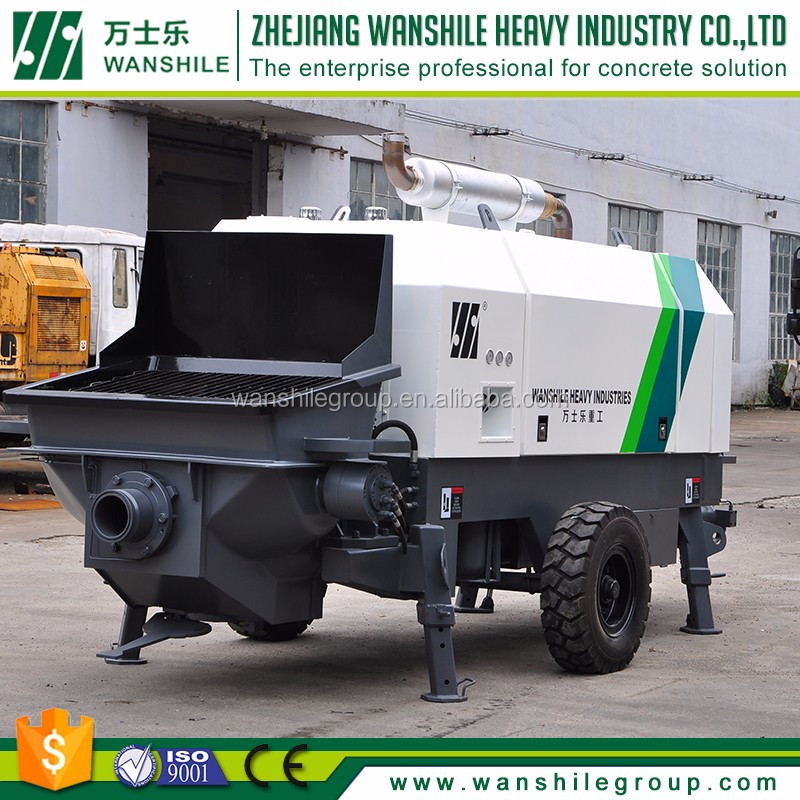 huzhou Suppliers Factory Direct latest products in market putzmeister stationary concrete pump