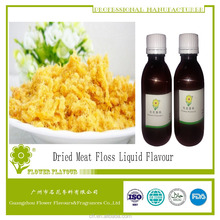 Halal flavor , strong concerntrated and high quality liquid flavour , dried meat floss flavour for meat products processing