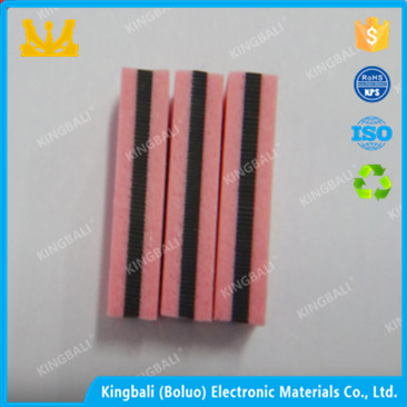 Good electrical conductivity double sided epdm foam rubber seal strip