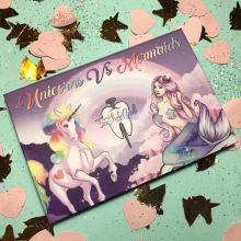 Mermaid 6 colors eyeshadow palette makeup Unicorn eyeshadow