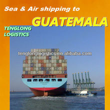 free collect repacking cargo and best rate shipping to Guatemala City from Wuhan Shenzhen
