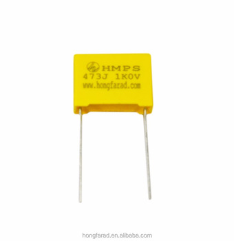 film capacitor MKP81 MPS Metallized polypropylene film capacitor with high voltage