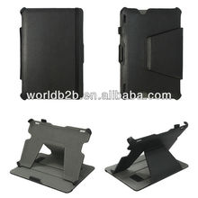 Leather Flip Microfiber Case for New Amazon Kindle fire HDX 7